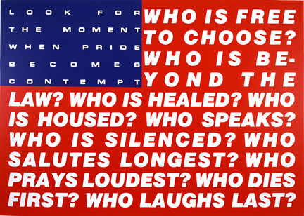 Untitled (Questions) Barbara Kruger Date: 1991