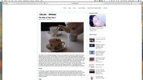Blog Article on Tea