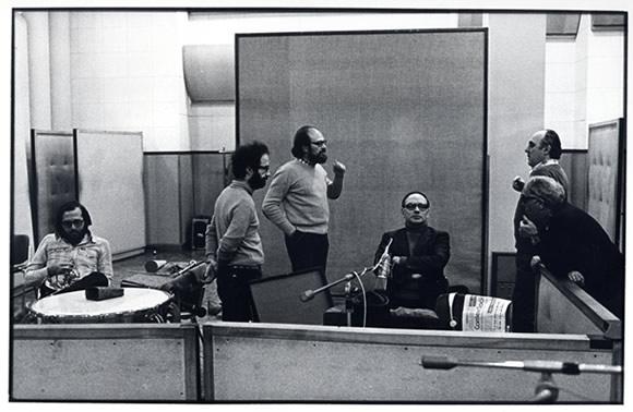 Morricone in 1978 with Gruppo di Improvvisazione Nuova Consonanza