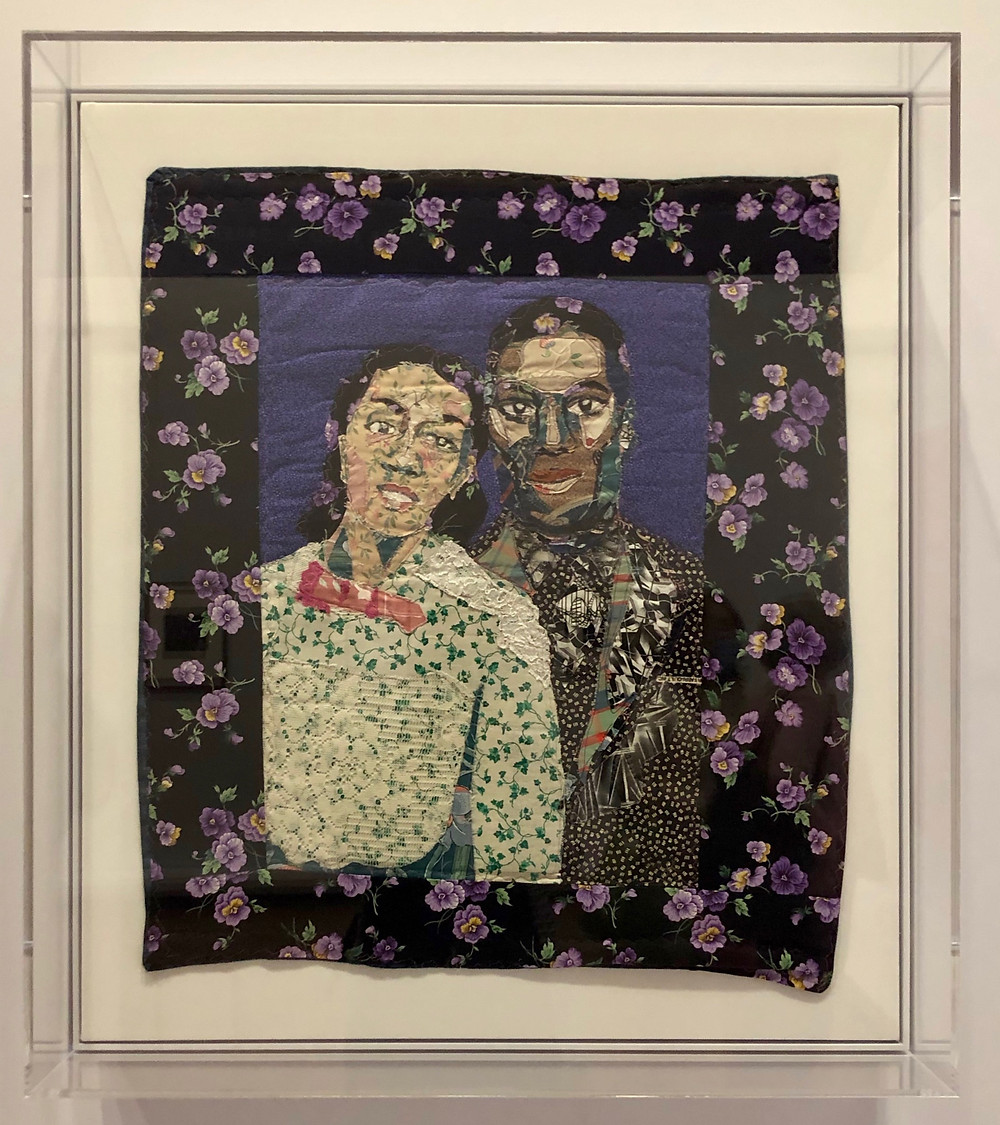 Francis and Violette (Grandparents) (2002) by Bisa Butler