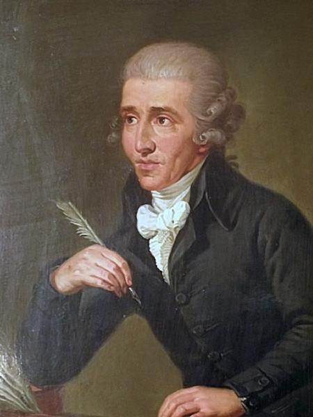 Haydn in c. 1770, Ludwig Guttenbrunn, painted c. 1791–92