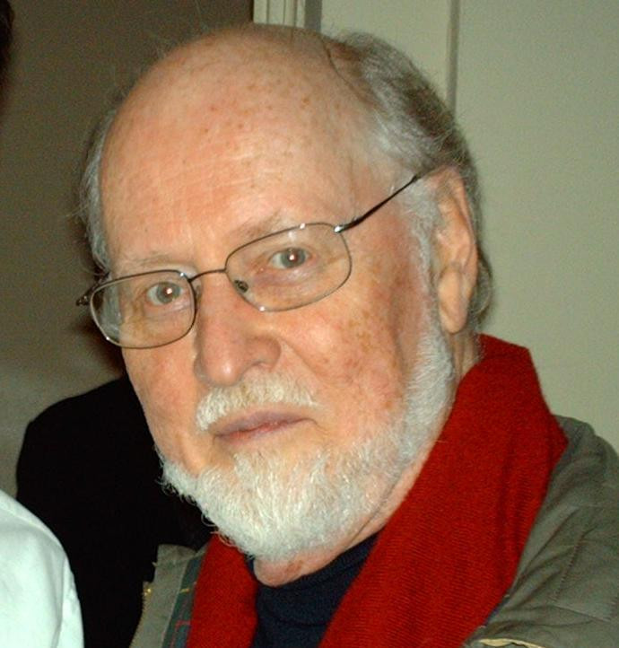 John Williams at the Boston Symphony Hall after he conducted the Boston Pops. May 2006. https://en.wikipedia.org/wiki/User:Nationalparks