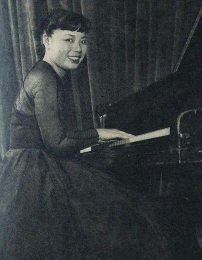 Toshiko in July 1955