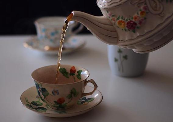 Teatime by Janae Jean