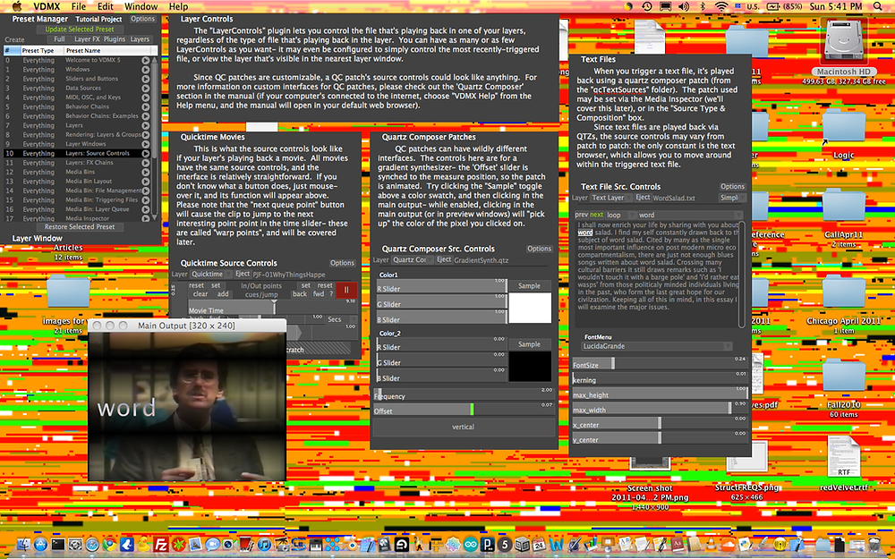 VDMX screen capture