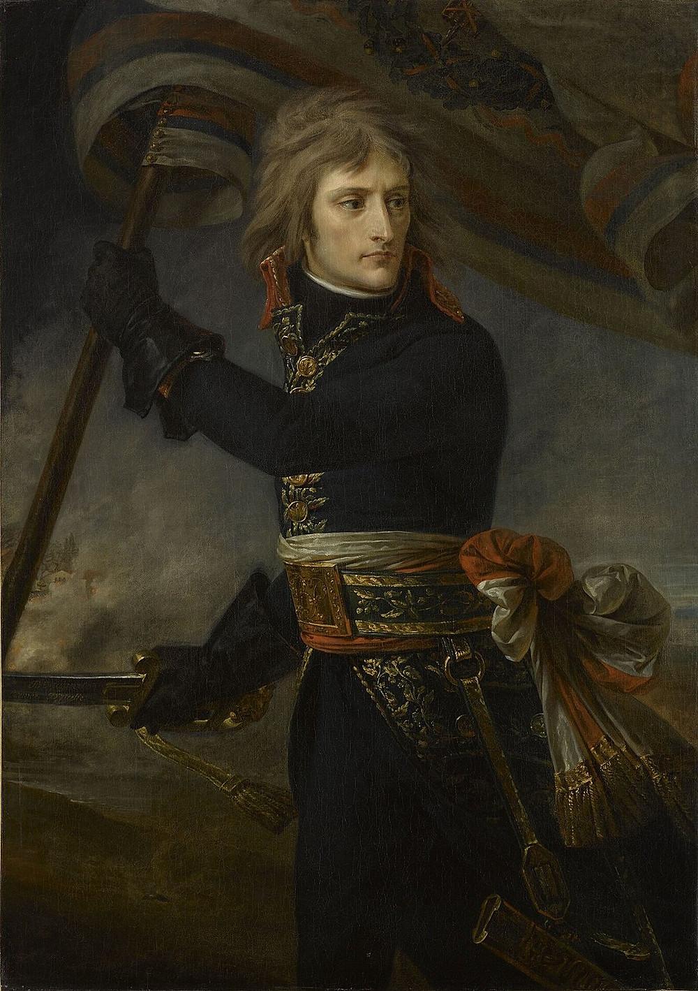 Bonaparte at the Pont d'Arcole, by Baron Antoine-Jean Gros, (c. 1801)