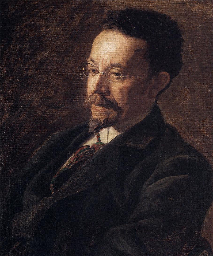 Tanner, portrait by his teacher Thomas Eakins, 1900.