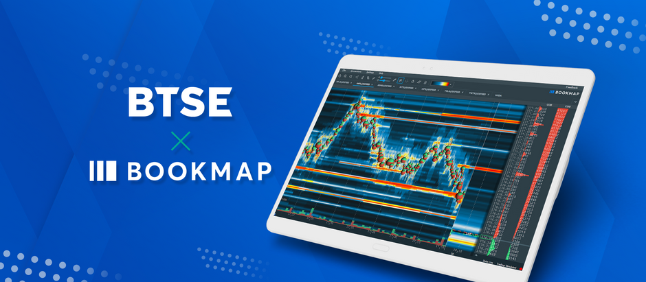 BTSE Partners With Trading Platform Bookmap For Visual Liquidity Addons