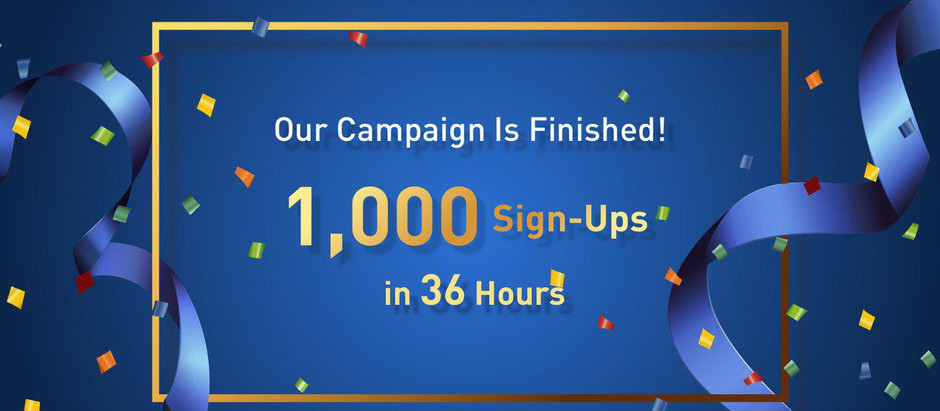 1,000 New Users Joined BTSE in Less Than 36 Hours!