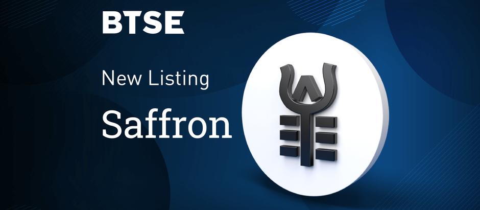 BTSE Announces Listing of Saffron Finance