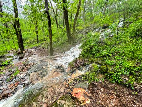 A River Runs Through It: Handcut Hollow Endures Massive Rainstorm