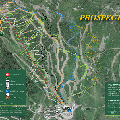 Construction Complete on Prospector: New Blue Jump Trail at Powderhorn Mountain Resort
