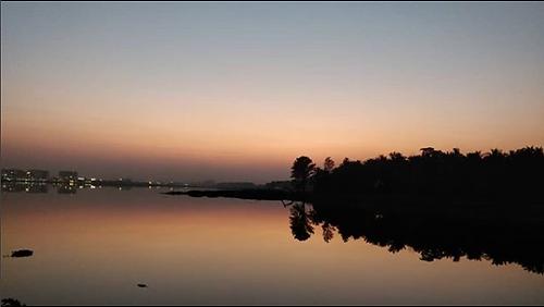 Reflection on Bellandur Lake