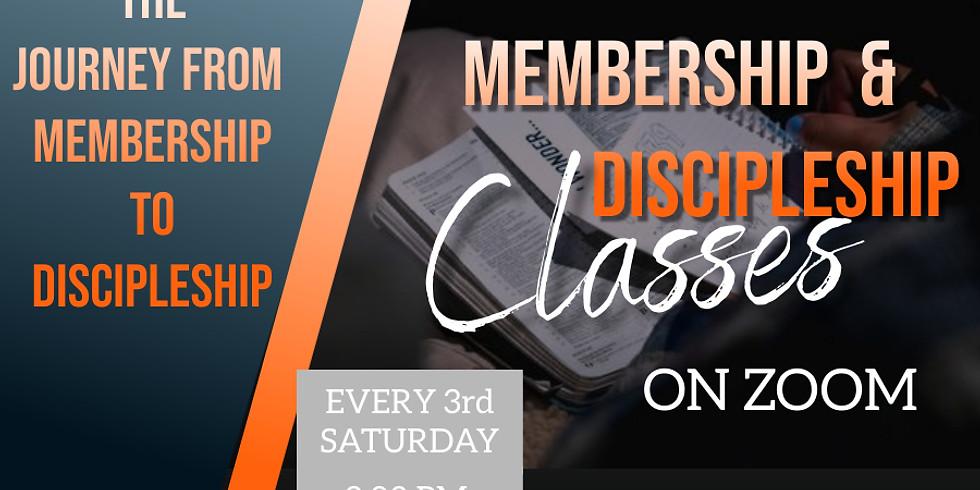 Membership & Discipleship Classes