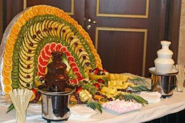 Фруктовый павлин на заказ в Перми, фруктовое ассорти на праздник