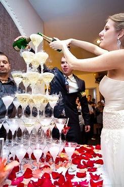 пирамида шампанского в Перми заказать, горка бокалов в Перми