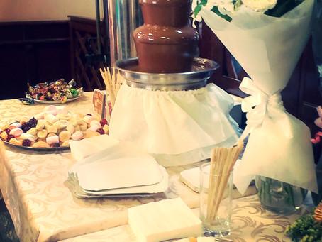 Шоколадный фонтан г.Березники Пирамида шампанского г.Березники
