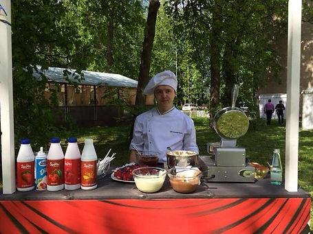 Вафельная станция в Перми, приготовление вафель на любом мероприятии