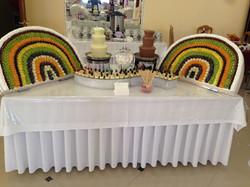 Шоколадный фонтан в Перми