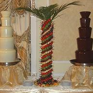 Фруктовая пальма на праздник, заказать, фрукты на праздник, на свадьбу