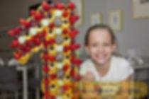 фруктовое ассорти, фруктовые цифры, оригинальная подача фруктов в Перми