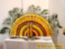 Фруктовый павлин на заказ в Перми, фрукты на свадьбу, фруктовое ассорти