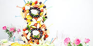 Фруктовые фигуры на праздник, заказать, фрукты на праздник, фруктовые цифры на свадьбу, фруктовое сердце, оригинальная подача фруктов