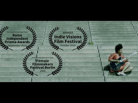 """Pressure"" Got Nominated for Best Music Video Award at Female Filmmakers Festival Berlin 2020"