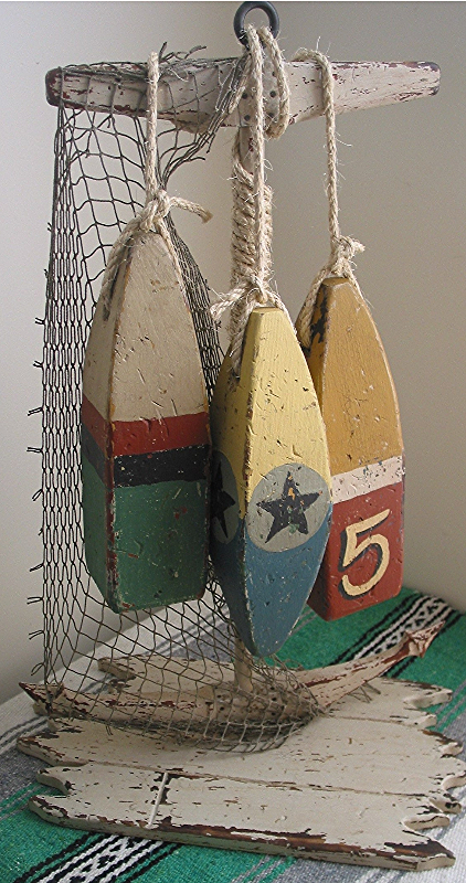 Folk Art Bouys