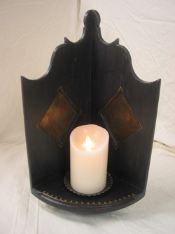 Corner Candle Stand