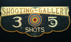 Shooting Gallery Sign