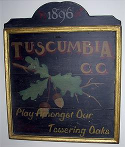 Tuscumba Sign