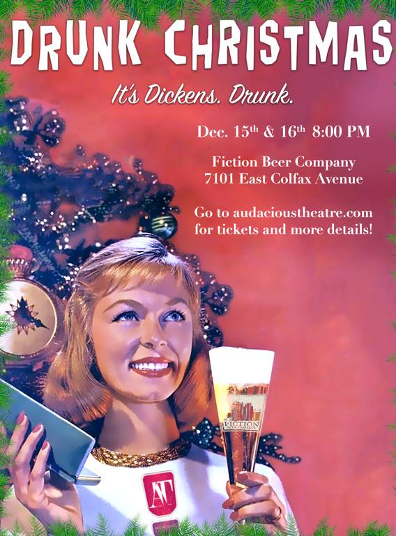 Drunk Christmas Flyer