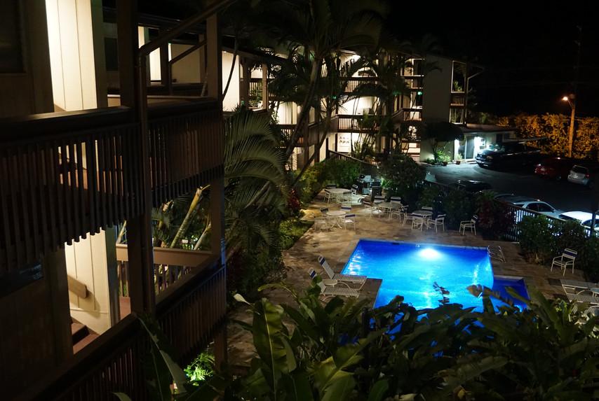 Bright LED Lighting on Property