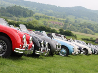 XK70 Jaguar Festival at Shelsley Walsh Hill Climb