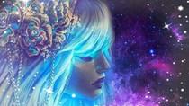 Support Transmission des Codes de Lumière de La Rose Bleue Diffusion Activation Être Solaire