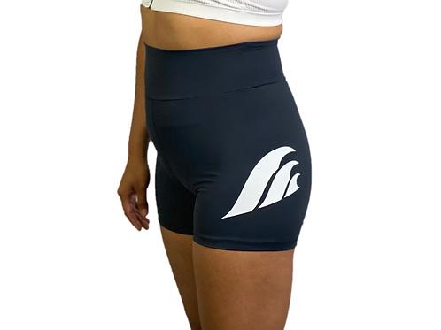 Black Wave Shorts