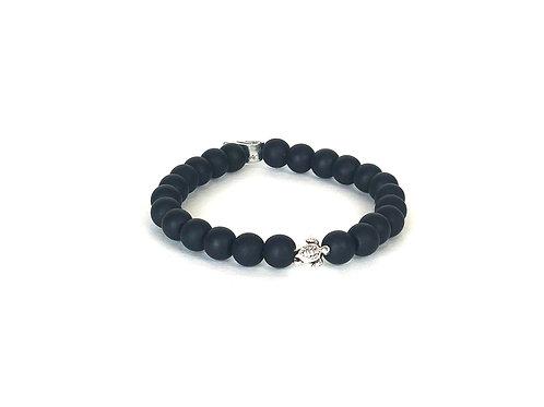 Ocean Plastic Bracelet-Turtle Black