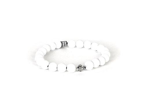 Ocean Plastic Bracelet-Turtle White