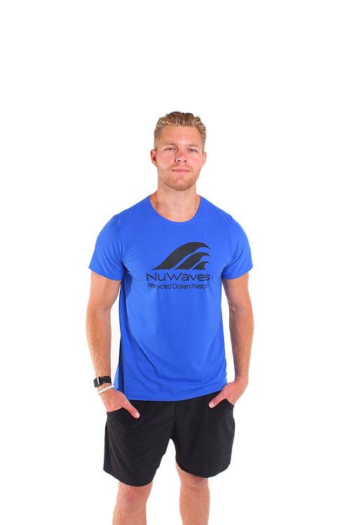 Men's Ghost Net T-Shirt-Blue
