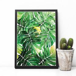 Banana Leaf photo frame