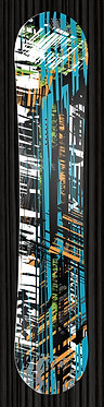 Abstract Snowboard Wrap 348