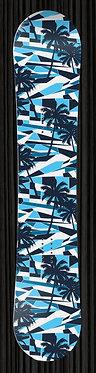 Blue Geometric Palm Trees 298