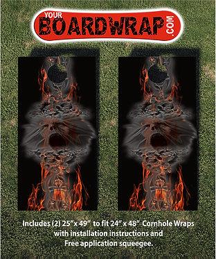 Cornhole Board Wrap 197