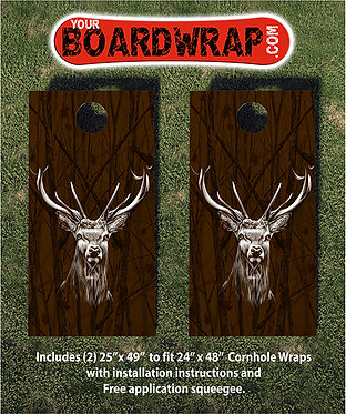 Deer Head Cornhole