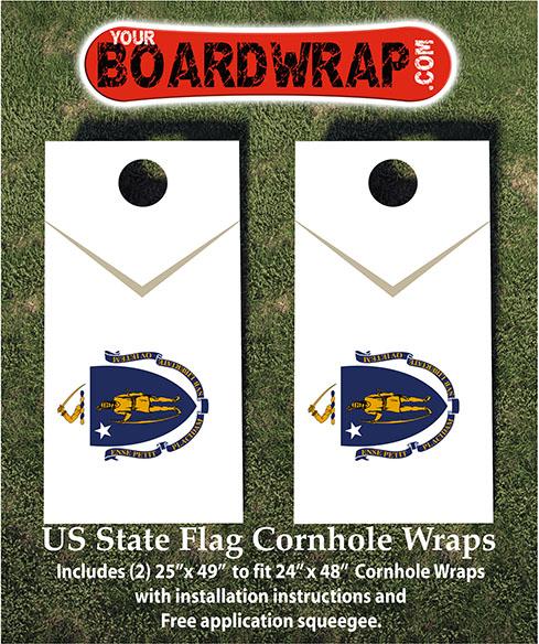 Massachusetts Flag Wrap