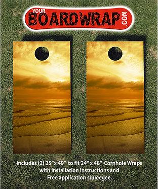 Cornhole Board Wrap 100