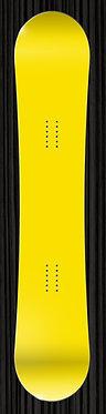 Yellow Snowboard
