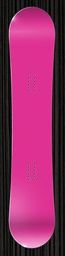 Dark Pink Snowboard Wrap