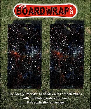 Cornhole Board Wrap 095